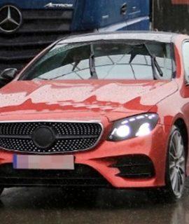 2019 Mercedes-Benz E-Class Coupe Spy Shots