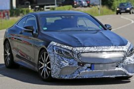 2020 Mercedes-AMG S63 Spy Shots