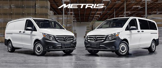 All new trim mercedes metris