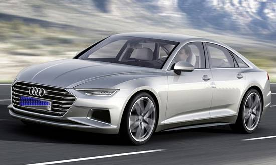 2017 Audi A6 with Prologue