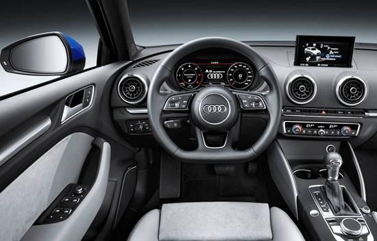 2018 Audi A3 Interior