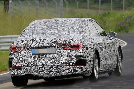 2018 Audi A8 Spy Shots