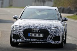 2018 Audi RS4 Avant USA