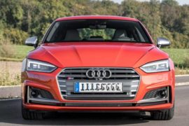 2018 Audi S5 Sportback Order Guide