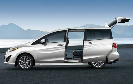 2018 mazda 5 minivan redesigned reviews specs interior release date and prices. Black Bedroom Furniture Sets. Home Design Ideas