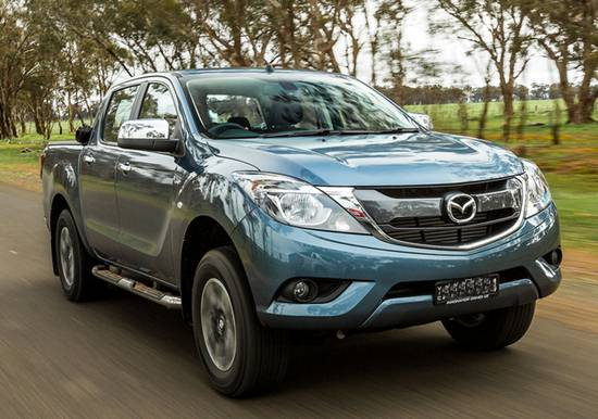 2018 Mazda BT-50 Facelift