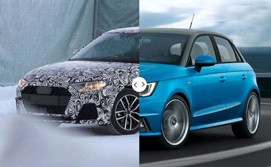 2019 audi a1 spy shots reviews specs interior release date and prices. Black Bedroom Furniture Sets. Home Design Ideas