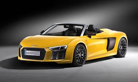 2019 Audi R8 V10 Spyder Concept