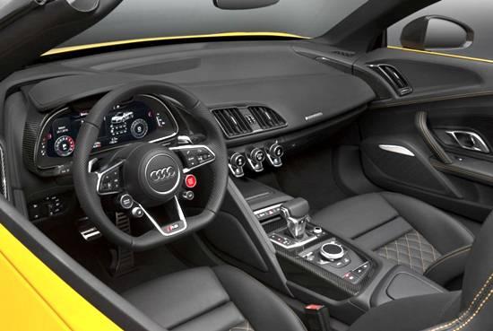2019 Audi R8 V10 Spyder Interior