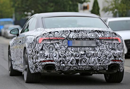 2019 Audi RS5 Spy Shots