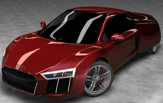 2020 Audi R8 E-Tron Concept Car