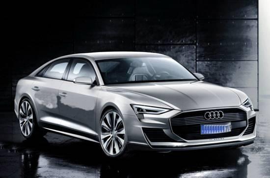 New Audi A9 Concept