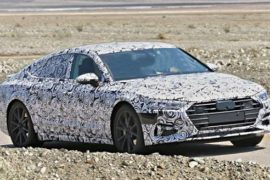 Next-Gen 2019 Audi A7 Spy Photos