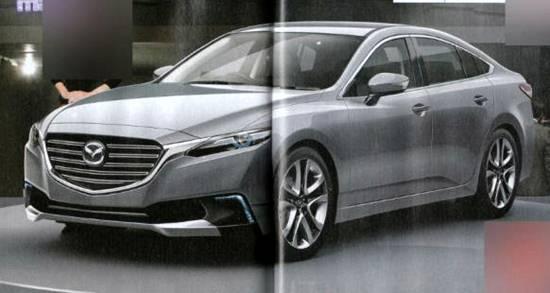 2019 Mazda 6 Spy Shots
