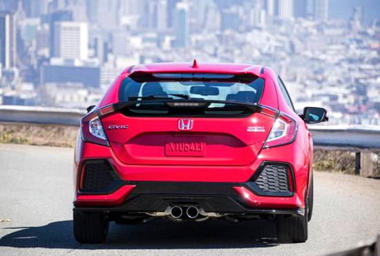 2019-2020 Honda Civic Spy Photos