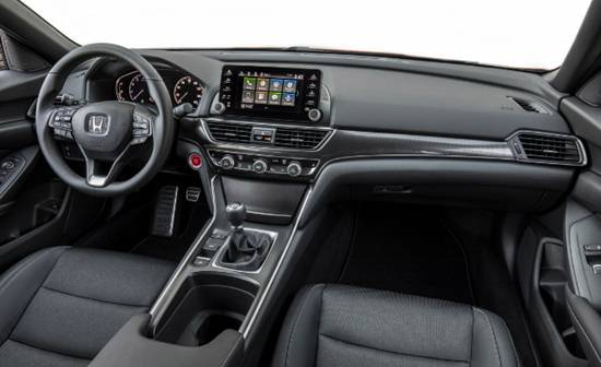 2020 Honda Accord Coupe and Sport Interior