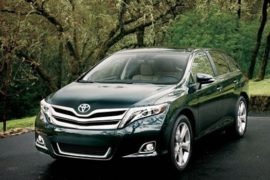 2018 Toyota Venza Discontinued