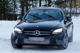 2018 Mercedes-Benz C Class Facelift