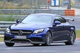 2019 Mercedes-AMG C63 R Coupe Spy Shots