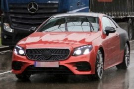 2019 Mercedes-Benz E-Class Coupe Spy Shots