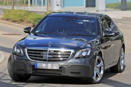 2019 Mercedes-Benz S Class Spy Shots