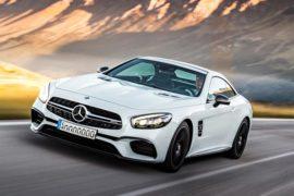 New Mercedes-Benz SL 2019 Spy Shots